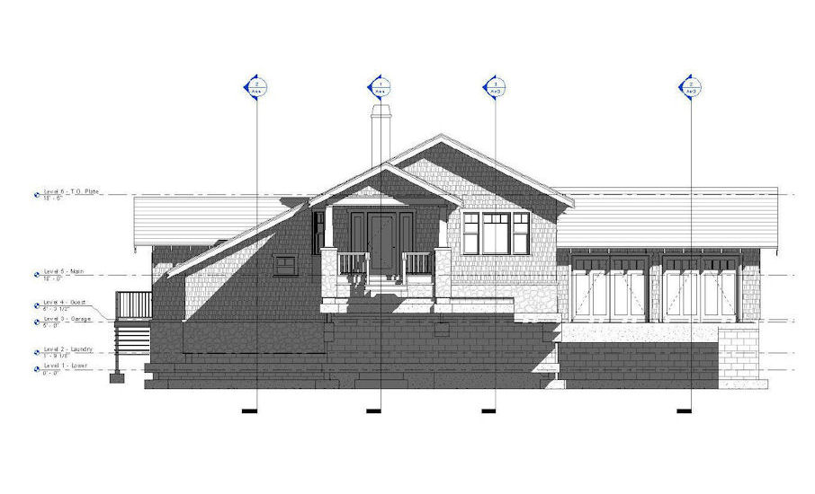 Revit Floor Elevation : Residences scanlan